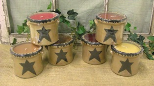 Star Crock Display